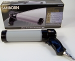Sanborn AIR CAULKING GUN Professional Adhesive Glue Caulk Steel Tube PO24-0229SN