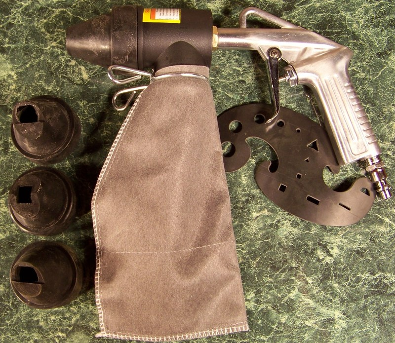 SPOT and DESIGN SANDBLASTER GUN with BAG