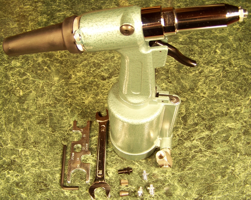 AIR RIVET GUN BIG 1/4