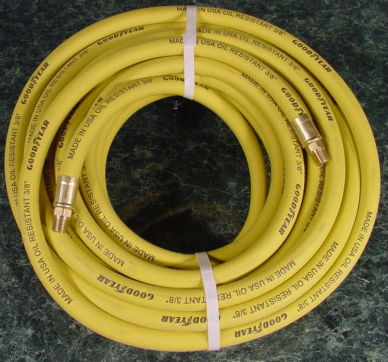 50 Foot 3/8 GOOD YEAR AIR HOSE USA made Goodyear