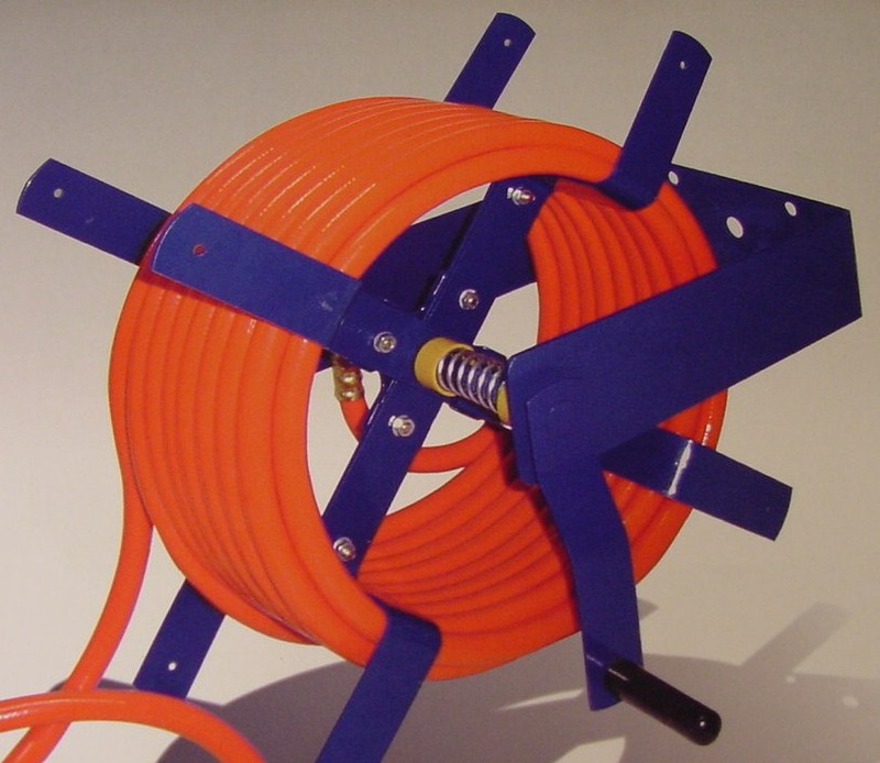 100 Foot Wall Mount Air Hose Reel 3 8 Quot And 1 2 Quot Open Face