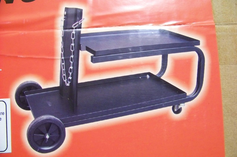 WELDING CART with Wheels and Shelves