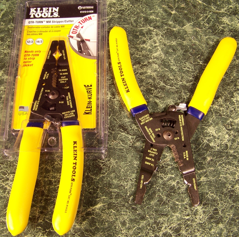 Klein Tool QTR TURN NM-B WIRE STRIPPER and CUTTER