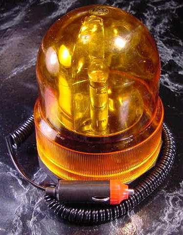 12 Volt REVOLVING AMBER CAUTION LIGHT