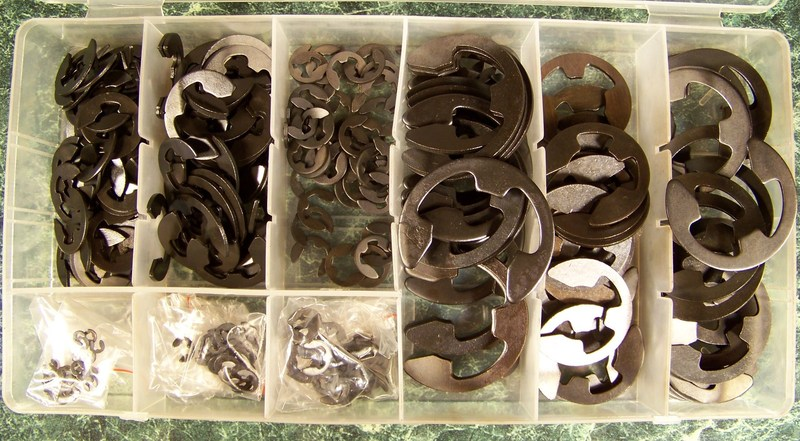 300pc E CLIP ASSORTMENT