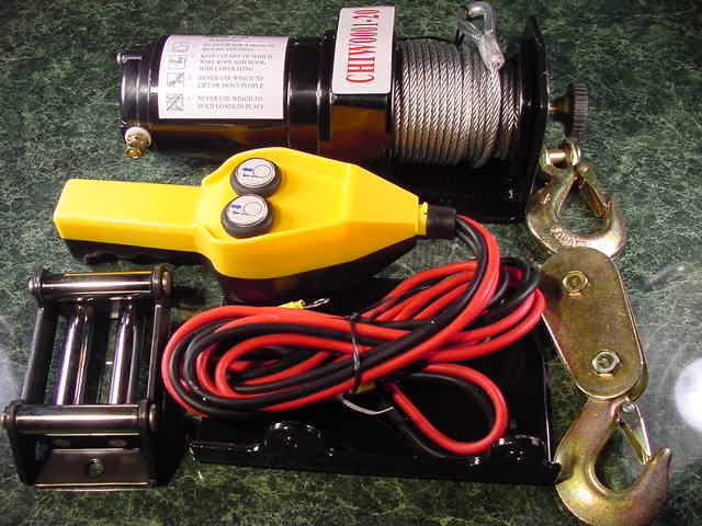 2,000 Lb 12 volt POWER WINCH
