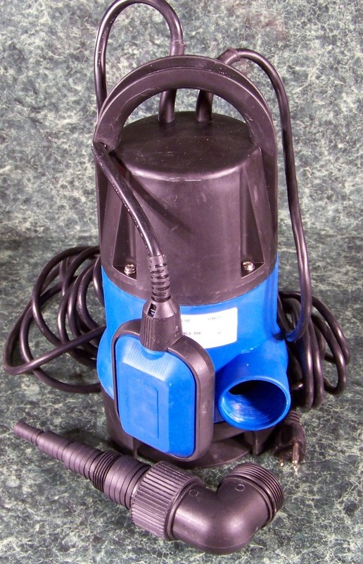 1/2 HP ELECTRIC SUBMERSIBLE SUMP WATER PUMP
