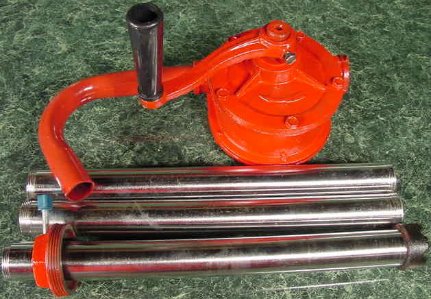 55 Gallon Drum ROTARY HAND PUMP diesel oil fuel barrel Self Priming Pump 6 GPM