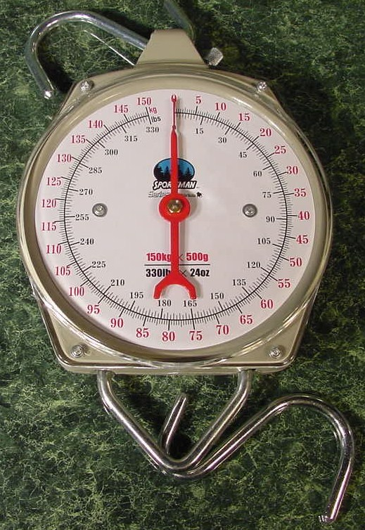 330 lb. HANGING DIAL SCALE