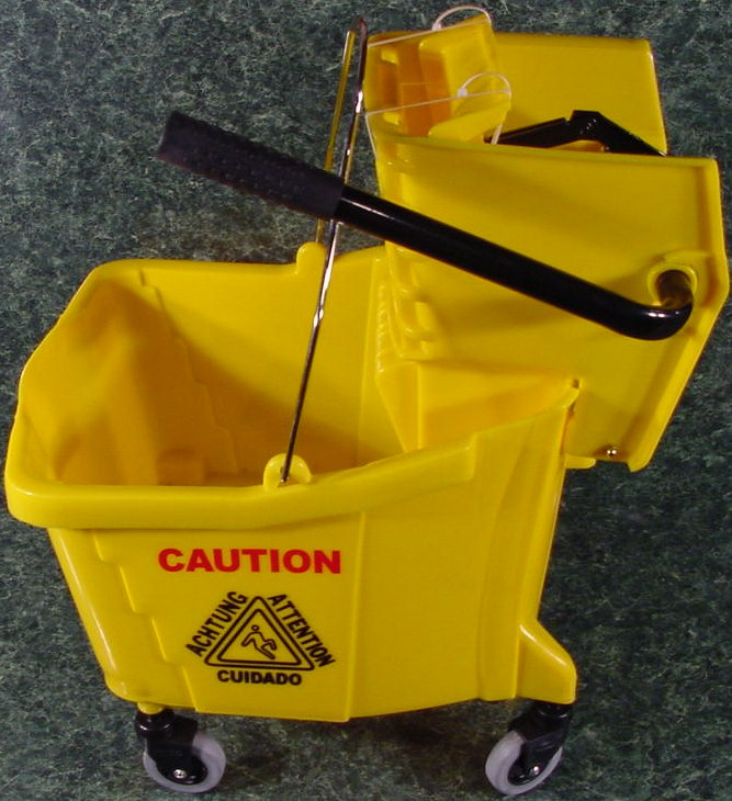Industrial MOP TROLLEY BUCKET with Ringer