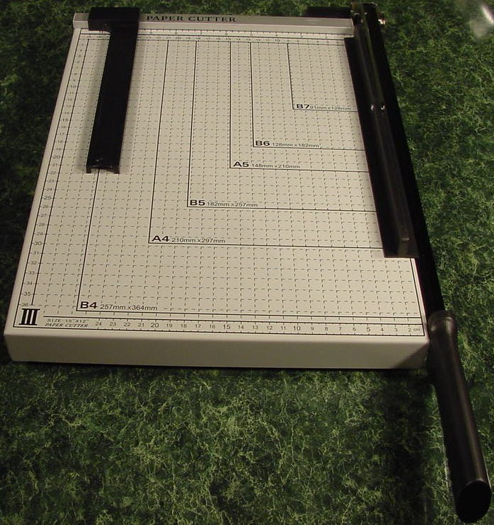 PAPER CUTTER Legal size