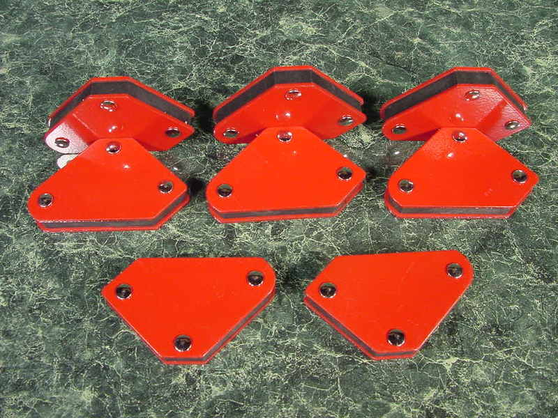 8pc. Mini ARROW MAGNETIC WELDING HOLDERS