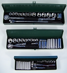 60pc. Professional SAE SOCKET SET 1/4