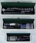 60pc Professional CR-V  METRIC SOCKET SET 1/4