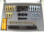 48pc Rethreading Set by Lang Tool made in USA Free Case when tap and die won't work