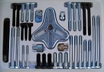 46pc HARMONIC BALANCER PULLEY WHEEL PULLER Most Complete Set