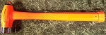 16oz BALL PEEN HAMMER Steel Head / Face Hi-Vis Neon Fiberglass Handle pein 1 pound