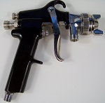 Replacement AIR Pressure POT SPRAY GUN ONLY Production Paint Sprayer Siphon Feed
