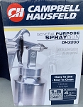 Campbell Hausfeld Air Paint Spray Gun DH3200 with Siphon Cup and Extra Tip