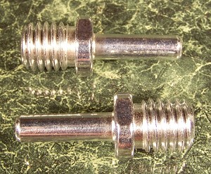 "2pc DRILL CHUCK ADAPTER Adapt a 5/16"" Shank to a 5/8"" x 11 TPI Threaded Grinder"