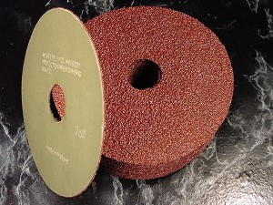 "20pc Assortment 4-1/2"" x 7/8"" Hole RESIN FIBER SANDING DISCS 40 50 60 100 Grit"