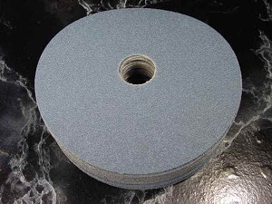 "25pc 7 "" x 7/8 Hole 36 GRIT SANDING DISC Zorconia RESIN FIBER SANDING DISC"