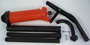 LEVER ACTION BARREL PUMP Polypropylene Gasoline, DEF (urea), Diesel, Machine Oil
