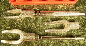 5pc BALL JOINT and TIE ROD KIT Air or Manual