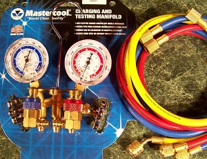 AC MANIFOLD GAUGE SET for R12 and R134a Mastercool USA