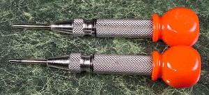 "2pc 5"" Large AUTOMATIC CENTER PUNCH"