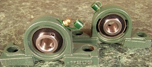 "2pc 5/8"" Pillow Block BALL BEARING BLOCK UNITS with Mount"
