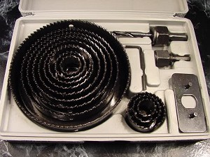 16pc HOLE SAW KIT with CASE up to 5""
