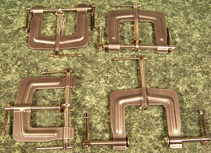 "4pc 3"" 3 WAY EDGE C- CLAMPS"