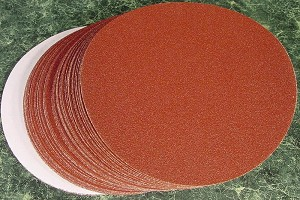"50pc 6"" PSA STICK ON SANDING DISC 120 GRIT"