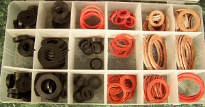 141pc FAUCET WASHER ASSORTMENT