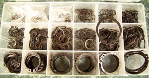 300pc SNAP RING ASSORTMENT
