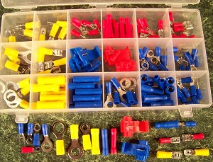 160pc AUTO WIRE TERMINAL SET
