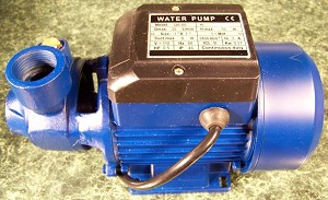 1/2 HP ELECTRIC CENTRIFUGAL WATER PUMP