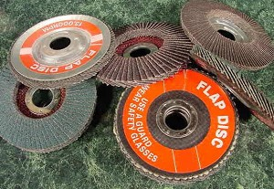 "10pc. 4-1/2"" DEPRESSED CENTER FLAP DISC SANDING / GRINDING WHEELS 40 GRIT"" FLAP DISC SANDING GRINDING WHEEL 40 Grit"